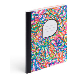 Composition Notebook, Confetti - Ideal for doodling, journaling, and prom date planning.