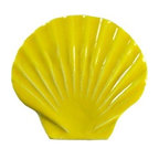 "Glass Tile Oasis - Seashell Pool Accents Yellow Pool Glossy Ceramic - Sheet size:  5""        Tile thickness:  1/4""        Sheet Mount:  Mesh Backed    Sold by the piece       -  We offer six lines of in-stock designs ready for immediate delivery including: The Aquatic Line  The Shadow Line  The Hang 10 Line  The Medallion Line  The Garden Line and The Peanuts® Line.All of the mosaics are frost proof  maintenance free and guaranteed for life.Our Aquatic Line includes: mosaic dolphins  mosaic turtles  mosaic tropical and sport fish  mosaic crabs and lobsters  mosaic mermaids  and other mosaic sea creatures such as starfish  octopus  sandollars  sailfish  marlin and sharks. For added three dimensional realism  the Shadow Line must be seen to be believed. Our Garden Line features mosaic geckos  mosaic hibiscus  mosaic palm tree  mosaic sun  mosaic parrot and many more. Put Snoopy and the gang in your pool or bathroom with the Peanuts® Line. Hang Ten line is a beach and surfing themed line featuring mosaic flip flops  mosaic bikini  mosaic board shorts  mosaic footprints and much more. Select the centerpiece of your new pool from the Medallion Line featuring classic design elements such as greek key and wave elements in elegant medallion mosaic designs."