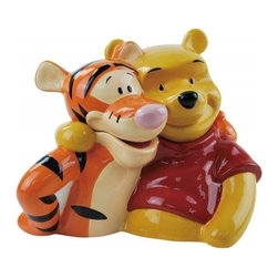 Westland - 9.5 Inch Tigger and Pooh Bear Best Friends Forever Colorful Cookie Jar - This gorgeous 9.5 Inch Tigger and Pooh Bear Best Friends Forever Colorful Cookie Jar has the finest details and highest quality you will find anywhere! 9.5 Inch Tigger and Pooh Bear Best Friends Forever Colorful Cookie Jar is truly remarkable.