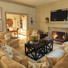 Traditional Living Room by Stillwater Builders