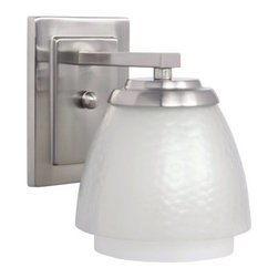 Craftmade - Craftmade 14606 Piedmont 1 Light Wall Sconce - Lamping Technology: