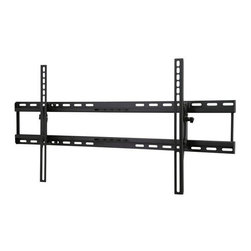 "Peerless - Fixed Tilt Wall Mount, 37"" - 70"" Up to 105 Lbs - The Peerless PRMTLU tilting wall mount is easy to install and offers display angle versatility. Designed for medium to larger displays, the Hook-and-Hang system means even one person can easily install even larger displays. Easy-Glide adaptors easily hook into the wall plate for quick, simple and secure installation. The low-profile design holds the display just 2.66"" (67mm) from the wall. After installation, use the side-to-side adjustment to perfectly position the display. The +15/-5o of tool-less tilt ensures you'll always have the perfect viewing angle. With the IncreLok tilt technology, you can lock the tilt angle at installation, and prevent tampering or moving. Plus, the open wall plate allows total wall access, which increases electrical and cable management options. Display your television with the safety and accessibility you want with this easy to install wall mount."
