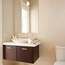 Contemporary Bathroom Vanities And Sink Consoles by Wellborn Cabinet, Inc.