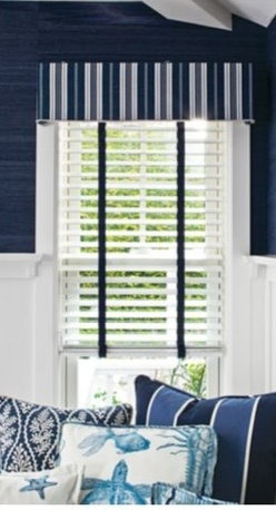 Custom Smith + Noble window treatments - Smith + Noble