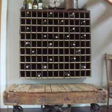 Eclectic Wine Racks by Taylored Interior Design & Construction