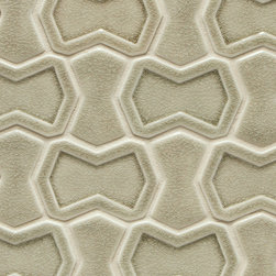 Vibe Parker Mosiac Field in Suede - Ceramic and Terracotta