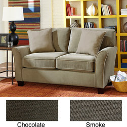 SOFAB - Sofab Muse Love Seat - SOFAB is a revolutionary new upholstery product made in the USA that can be shipped UPS ground. This love seat looks great, is real comfy and comes with a 3 year warranty.