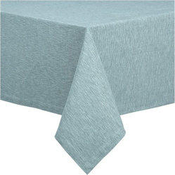 "Linden Cyan 60""x60"" Tablecloth"