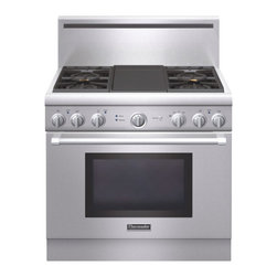 "Thermador 36"" Pro Harmony Gas Range, Stainless Steel Natural Gas 