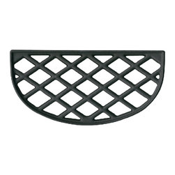 John Wright - Black Matte Ledge Trivet - Designed especially for inserts this half trivet is excellent to pair with our Ledge Steamer.