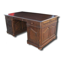 EuroLux Home - New Office Desk French Country Style File - Product Details