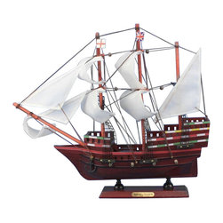 "Handcrafted Model Ships - Mayflower Limited 14"" - Historical Model Ship - Sold fully assembled"