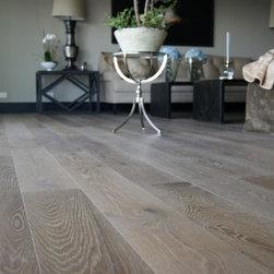 European Oak Wide Plank Hardwood Floors -