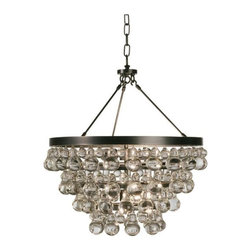 Robert Abbey - Robert Abbey-Z1000-Bling - Chandelier With Convertible Double Canopy - Wattage: 60