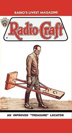 "Buyenlarge.com, Inc. - Radio-Craft: An Improved Treasure Locator - Canvas Poster 20"" x 30"" - Radio, TV. Wireless, Telegraph, Television"