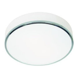 Joshua Marshal - Opal Aero 2 Light Flush Mount Ceiling Fixture - Opal Aero 2 Light Flush Mount Ceiling Fixture