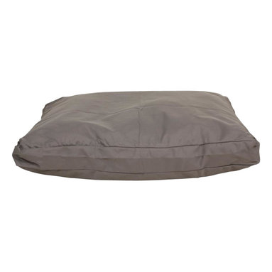 Carolina Pet Company - Brutus Tuff Petnapper, Silver Grey, 25 X 20 X 4 - Super tough for pets that are rough on their beds.  1200 D Polyester fabric makes this the perfect bed for pets that like to scratch or chew.  Easy off zippered cover for easy care.  Machine washable.  100% recycle high loft polyester fill keeps pets off cold floors for added comfort and relief on hips, joints, and pressure points.