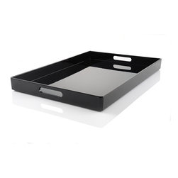 Lacquer Serving Tray - I know my kids need a drinks tray in order to not spill. This one can be used in the kitchen, or really anywhere, on other days.