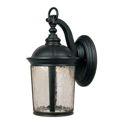 "Designers Fountain - Designers Fountain LED21331-ABP 9"" Wall Lantern - Designers Fountain LED21331-ABP 9"" Wall Lantern"