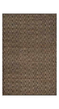 """Loloi Rugs - Loloi Rugs Istanbul Collection - Natural / Charcoal, 3'-6"""" x 5'-6"""" - The warm, all natural tones of 100% jute of the Istanbul Collection offer raw elegance and an organic feel for any room. Intricately hand woven in India, Istanbul is available in simple geometric patterns."""