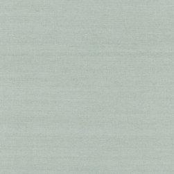Isaku Light Green Grasscloth Wallpaper - An eco-chic natural grasscloth weave in seafoam green.
