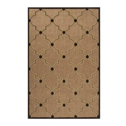 """Surya Rugs - Geometric Outdoor Area Rug PRT-1048 - 100% Olefin. Style: Indoor / Outdoor. Rugs Size: 5' x 7'6"""". Note: Image may vary from actual size mentioned."""