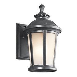 """Kichler - Kichler 49409BK Ralston Collection 1 Light 11"""" Outdoor Wall Light - Kichler 49409 Ralston Outdoor Wall Light"""