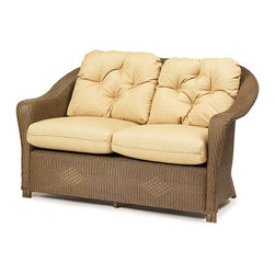 Wicker Paradise - Replacement Cushions for Lloyd Flanders Reflections Loveseat - Our replacement cushions are made to fit Lloyd Flanders wicker furniture. Replace your existing cushions to give a new look to your collection! The cushion is offered in Dupione Bamboo premium fabric.