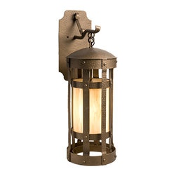 Steel Partners Inc - Hanging Sconce - DUOMO - Every piece we create is unique — handcrafted at our factory in Chehalis, Washington, USA. Due to this, lead times are 2 to 4 weeks.