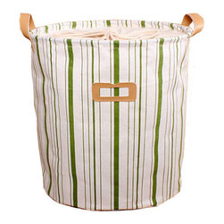 GreenForest - Green Strip Laundry Hampers - GreenForest has been focused on household items since 2005 which also is a registered trademark