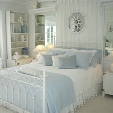 Traditional Bedroom French Flair Design