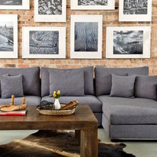 Contemporary Sectional Sofas by Interior Define