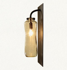eclectic wall sconces by Terrain