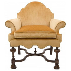 Mediterranean Armchairs And Accent Chairs by Windsor Smith Home Collection
