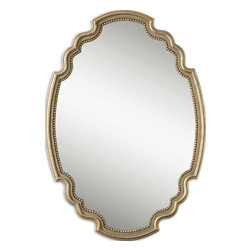 Uttermost - Uttermost 12821 Terelle Oval Gold Mirror - Uttermost 12821 Terelle Oval Gold Mirror