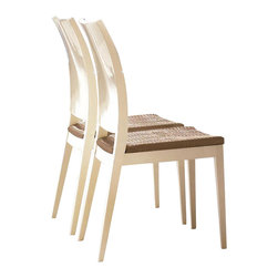 Rossetto - Diamond Ivory Chair - Features: