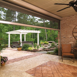 Retractable Patio/Lanai Screens - Your outdoor area can be bug-free with retractable screens; manual and motorized available