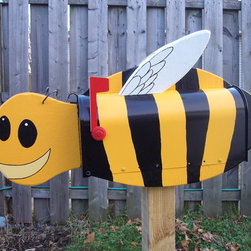 Decorative Bee mailboxes - Decorative Mailboxes