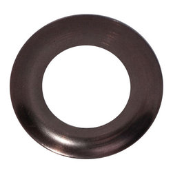 Tuscan Bronze Vessel Mounting Ring - This mounting ring is designed for giving your glass vessel sink an ultimate finish, setting it off of the countertop and completing the look of your final installation. Mounting rings are only compatible with round shaped sinks with flat bottoms. Removable rubber pieces are included for the top and bottom of the ring.