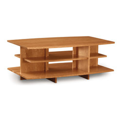 "Copeland Furniture - Copeland Furniture Monterey 48"" x 30"" Coffee Table 5-MNT-42-03 - The Monterey occasional tables are crafted in solid cherry hardwood."