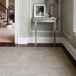 Lacebark Carpet Tile, Pearl - I love textured rugs to help conceal any dirt, but Flor tiles are my favorite. If one gets soiled beyond repair, it can easily be swapped out for a new square. I used to have Flor tiles in the entryway, and they were a great durable solution for my family and pets.