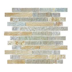 In Stock Mosaic - Multi Color Quartz