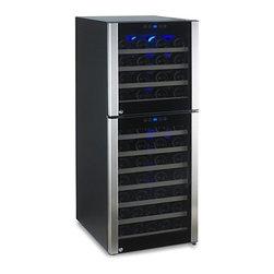 73-Bottle Evolution Series Dual Zone Wine Refrigerator -