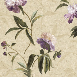 York Wallcoverings - GN2424 Wallpaper, Double Roll - Prepasted: Paste has already been applied to the back of the wallpaper and is activated with water.