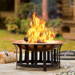 All-In-One Fire Pit and Accessories - If I had a patio area in place, I'd definitely add a fire pit. Roasting marshmallows would be a big hit on those summer evenings in the backyard!