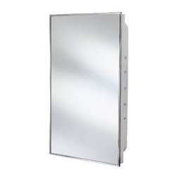 National Brand Alternative - Medicine Cabinet 16 In. X 26 In. - Mirrored Doors Surface Mount Chrome Plated Aluminum Frame - Manufacturer: National Brand Alternative - ELECTRICAL - ELECTRICAL CONTROLS - TIMERS - DIGITAL TIMERS.