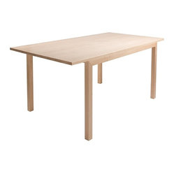 Cain Collection Table 2, Clear Lacquer Maple