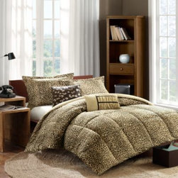 Cozy Soft - Cozy Soft Amara Comforter Ensemble - Animal attraction. A brilliant mix of cheetah print and soft-to-the-touch, lightly brushed fabric combine to create this Amara comforter set that immediately wraps you in luxury.