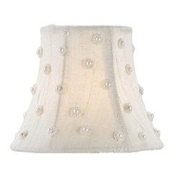 Currey & Company - Ivory Silk Decorative Shade - Decorative shade
