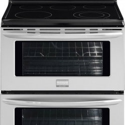 """Frigidaire - FGEF302TNF Gallery 30"""" Freestanding Electric Double Oven Range With Symmetry Dou - Two large ovens provide the flexibility to cook multiple dishes at the same time at different temperatures and each is big enough to cook a 28-pound turkey"""